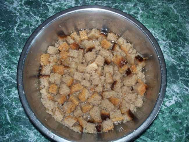 хлебная подкормка