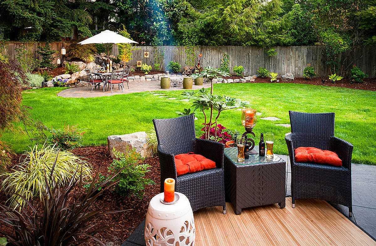 Садовый участок - как правильно организовать зону отдыха?