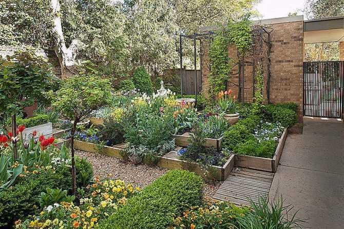Сад для ленивых, т.е. сад самообслуживания, почти без ухода